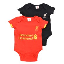 Liverpool Fc Official Baby Bodysuits New Style Kit 2015/6 (9-12 Months) - Vest -  liverpool fc baby vest lfc bodysuit vests new