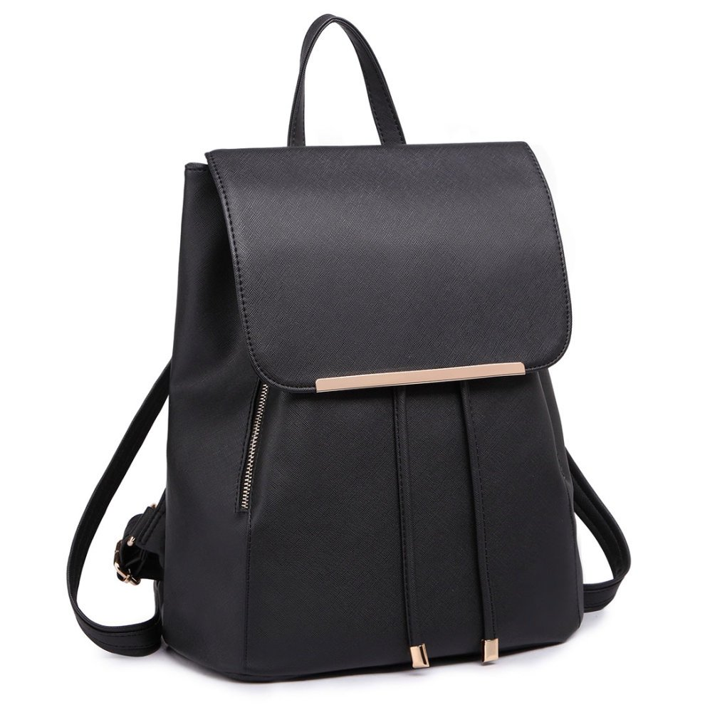 Black 1669 Miss Lulu Women S Fashion Backpack Girls