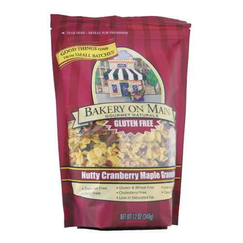 Bakery On main  Nutty Cranberry & Maple Granola 340g