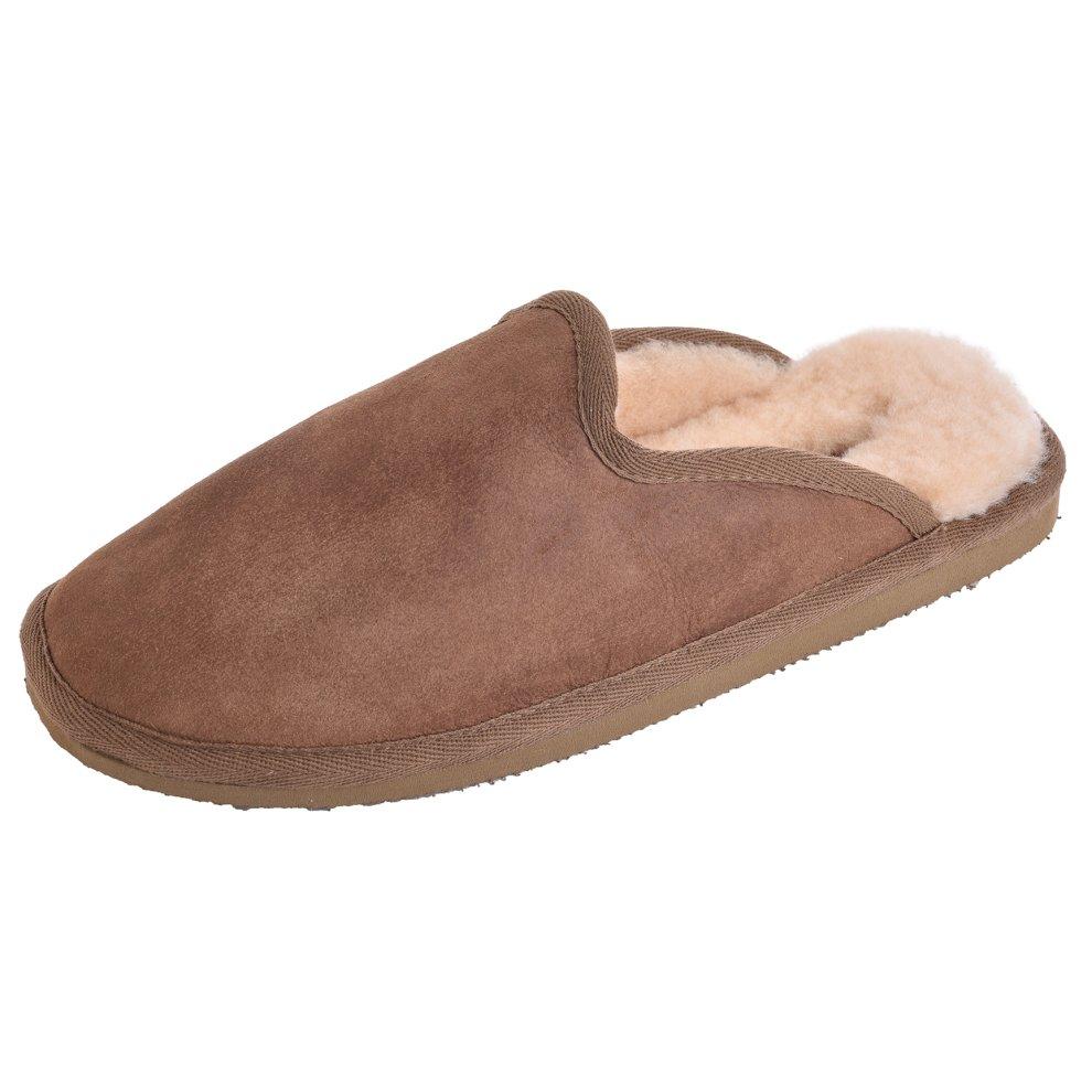e6a16998a2e3e ... Shepherd of Sweden Mens Hard Sole Mule Slippers - 2 ...