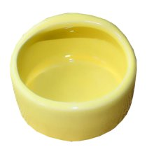 Pet Supplies One Ceramic Feeding Pot Anti-splash Food Bowl Water Box For Squirrel Hedgehog Hamster 7.5x5.5CM Yellow