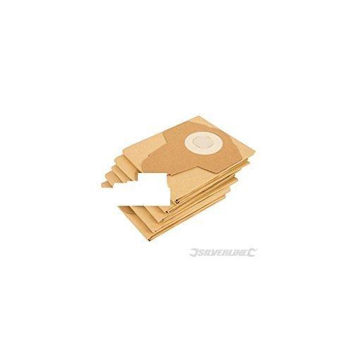 Dust Bags 5pk - Dust Bags 5pk - Silverline Pack 789651 -  dust bags 5pk silverline pack 789651