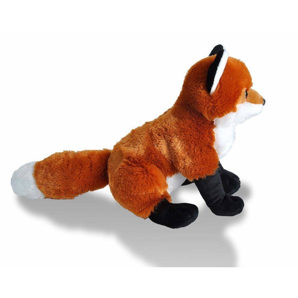 b88896c40fd3 ... Wild Republic Red Fox Plush Soft Toy, Cuddlekins Cuddly Toys, Gifts for  Kids 30cm ...