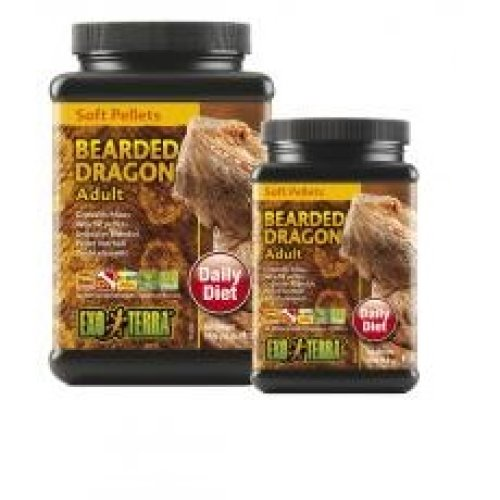 Exo Terra Soft Pellets Adult Bearded Dragon Food 250g