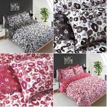 Leopard Animal Skin Print Duvet Cover Set