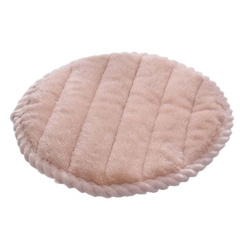 [Z] Soft Flannel Round Stool Cover Bar Stool Seat Pad