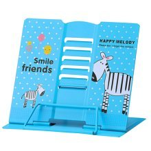 Book Stand Book Holder Adjustable Foldable Book Stand Cute [J]