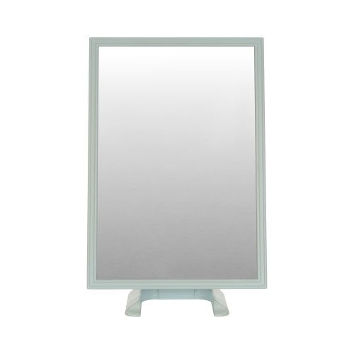 Blue Free Standing Rectangular Dressing Table Mirror On Onbuy