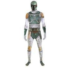Star Wars Boba Fett Adult Unisex Zapper Cosplay Costume Digital Morphsuit - XX Large - Multi-Colour (MLZBF2-XXL)