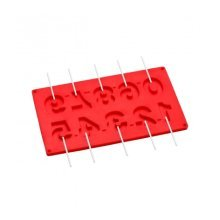10 Numbers Cake Pop Mould - Red