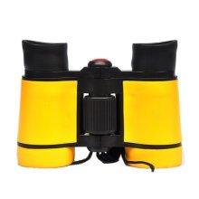 Binocular Telescope 8x40 Miniature Toy  Telescope Suit To Kids Yellow