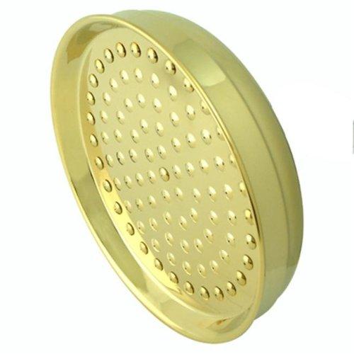Kingston Brass K124A2 8 Inch Diameter Brass Rain Drop Shower Head - Polished Brass