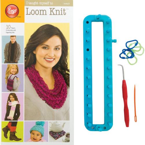 Boye I Taught Myself to Loom Knit -