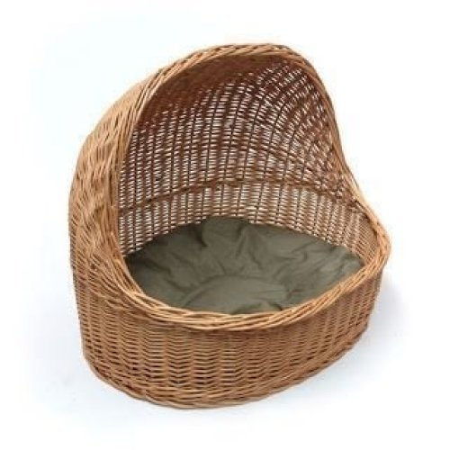 Wicker Pet House and Bed