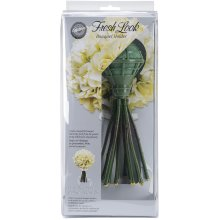 "Fresh Look Bouquet Holder 4.5""X2.5""X9.5""-Green"