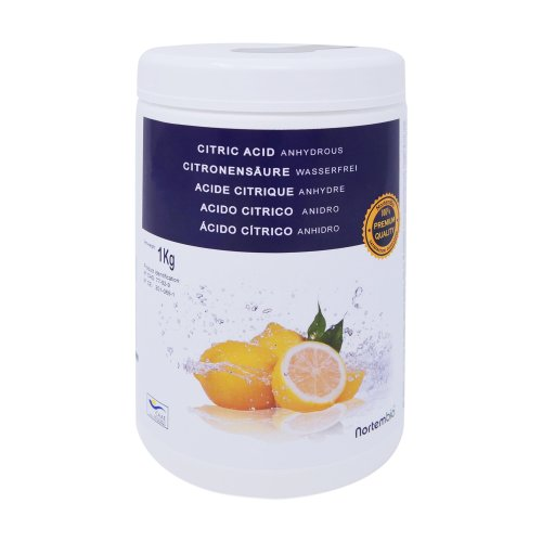NortemBio Citric Acid 1 kg, Pure Premium Quality