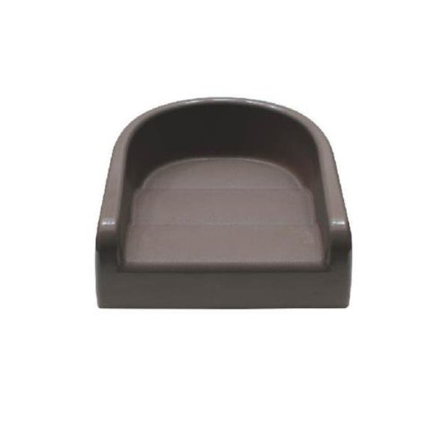 Prince Lionheart 6991 Soft Booster Seat - Charcoal Sierra Brown