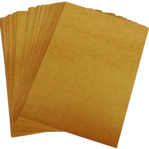 100 x A4 Brown Kraft 255gsm Card - Bulk Buy