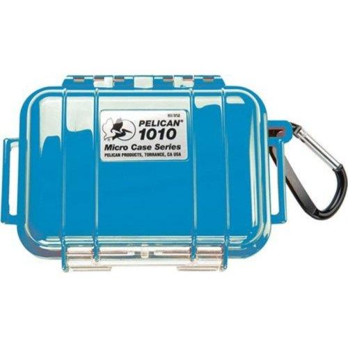 Pelican 1010 - Case 4.37X2.87X1.68In, Blk/Blue