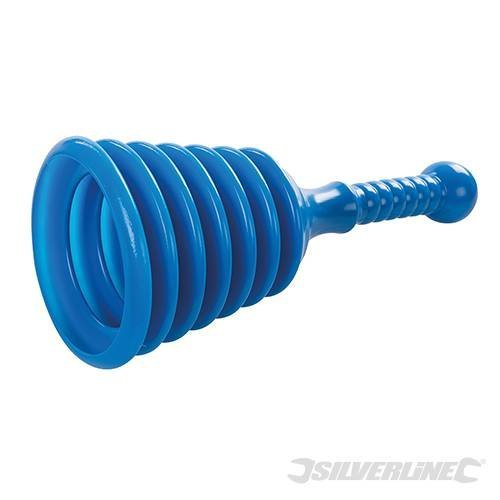 Silverline 130 x 310mm Sink Plunger