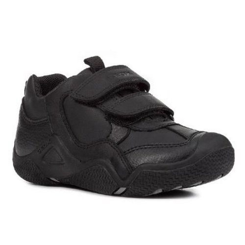 Geox Boys J Wader A Touch Fastening Leather Shoe