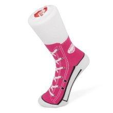 Sneaker Socks Pink Size 1-4