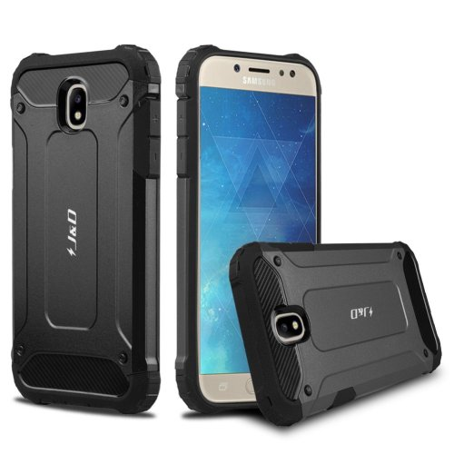 buy online 4c3ff 309bd J&D Galaxy J5 2017 Case, [ArmorBox] [Dual Layer] Hybrid Shock Proof  Protective Rugged Case for Samsung Galaxy J5 (Release in 2017) (Black)