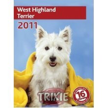 Trixie 2017 Calendar West Highland Terrier Square Wall Calendar - Kalender 2010 -  kalender west highland terrier 2010 book second hand
