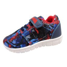 Spiderman Trainers with Touch Fastening