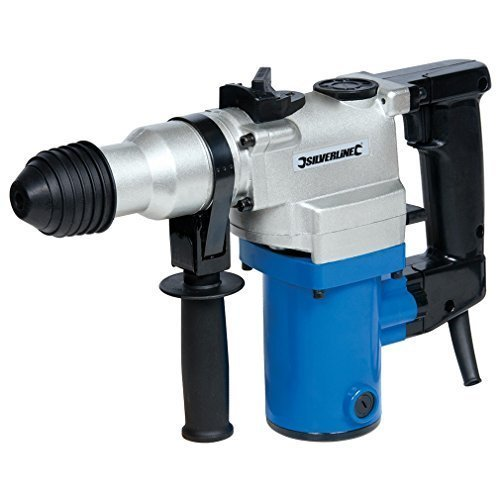 Silverline Diy 850w SDS Plus Hammer Drill 850w - 633821 -  850w sds plus hammer drill silverline 633821 diy