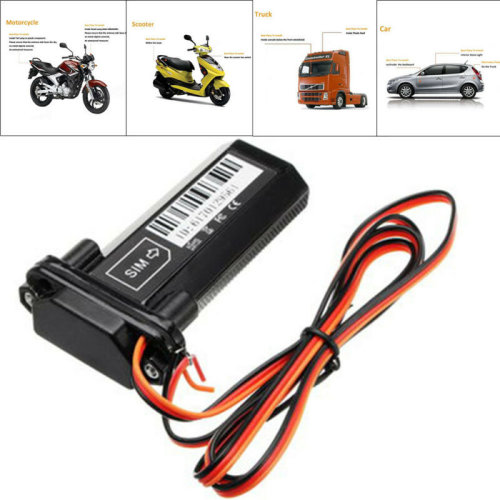 Waterproof GSM GPS GPRS Tracker Locator Car Vehicle Tracking Device Realtime