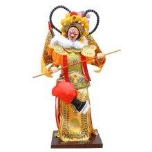 Traditional Chinese Doll Peking Opera Performer - Sun Wu Kong