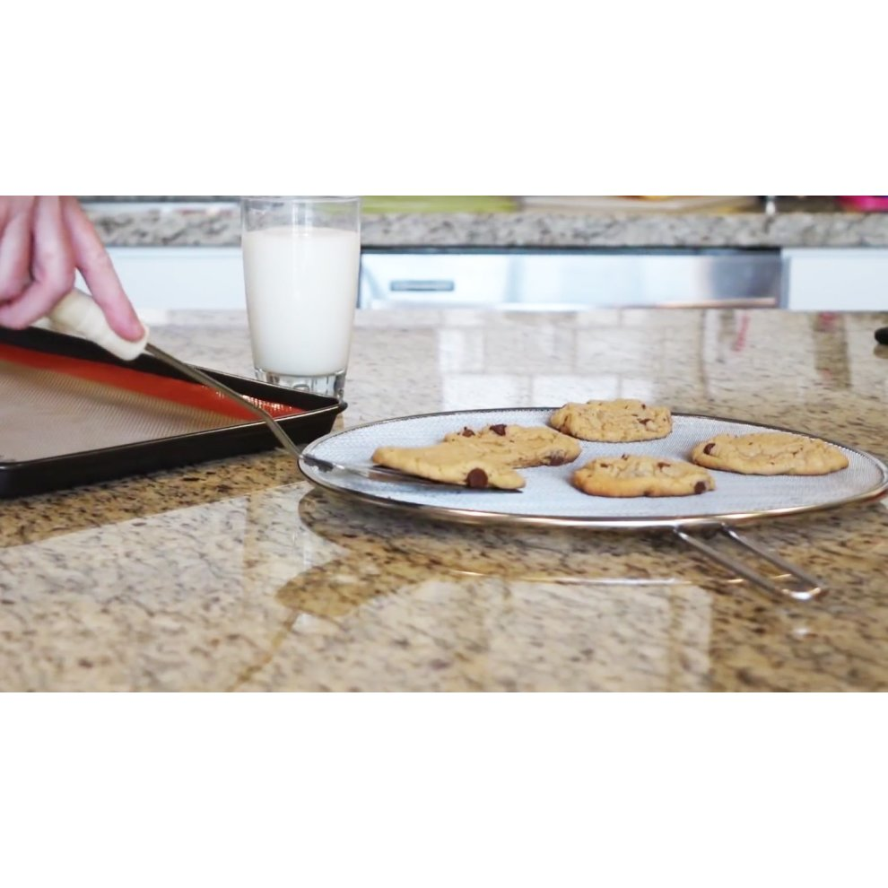 Cucinare Splatter Screen Guard with Double Thick Mesh for Cooking ...