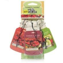 Yankee Candle Fruitalicious Car Freshener Jar Variety Pack, Multi-Colour, 3 Pack