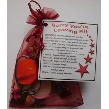 Sorry You're Leaving Kit | Leaving Work Keepsake Gift