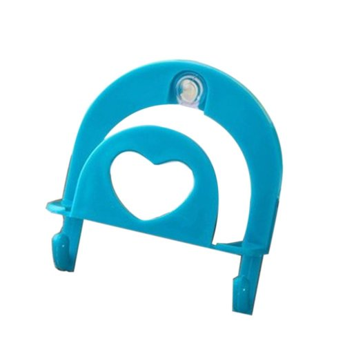 Set of 4 Practical/Useful/High-quality Dishwashing Sponge Holder, Blue