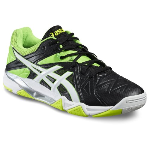 Asics Gel-Sensei 6 B502Y-9001 Mens Black volleyball shoes