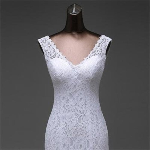lustrous satin and lace flowers  very Sexy  Backless mermaid  Wedding Dresses vestidos de noiva robe de mariage