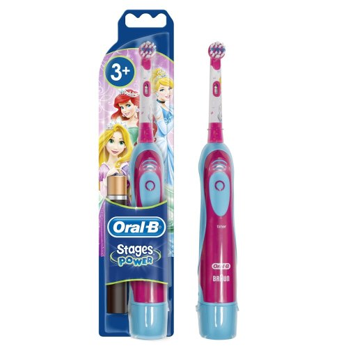 Oral-B Stages Power Electric Kids Toothbrush, Disney Design, with Battery (assorted)