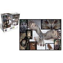 Owls 1000 Piece Puzzle - WWF