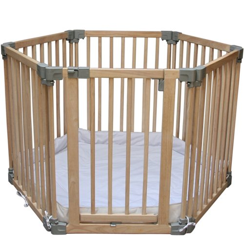 Clippasafe Multifunctional Wooden Playpen