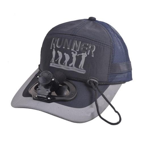 Summer Fan Hat with Fan Fishing Sun Visor Cap#J