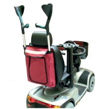 Universal Scooter Bag Carries 2 Crutches or Walking Sticks …