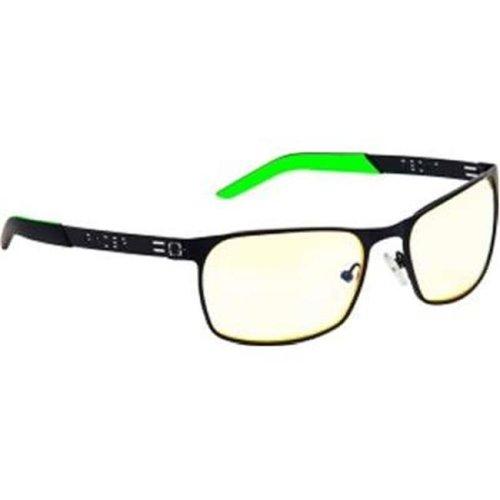 Gunnars RZR-30006 Gaming Razer FPS Glasses Onyx Frame & Amber Lens