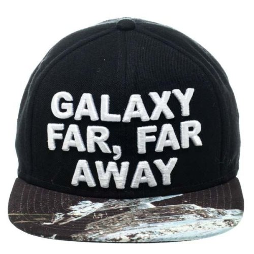 release date: fa3be a86da Star Wars Galaxy Far, Far Away Sublimated Bill Black Snapback Cap on OnBuy