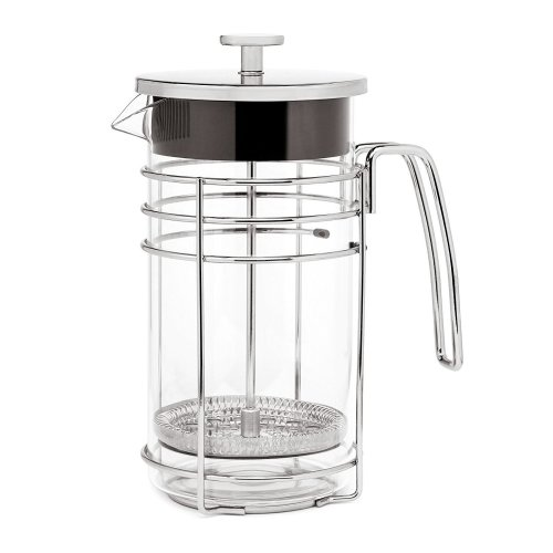 Lsydnfow Cafetiere French Press Coffee Maker 600ml/20oz, Coffee Press & Tea Makers with Heat Resistant Borosilicate Glass and 304 Grade Stainless...