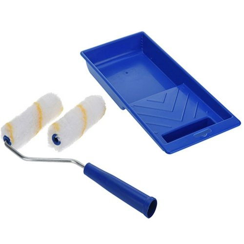 4 Piece Paint Roller Set with Extra roller Cover