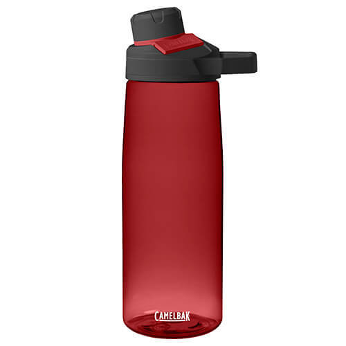 Camelbak Unisex Chute Mag Water Bottle, Cardinal, 750 ml