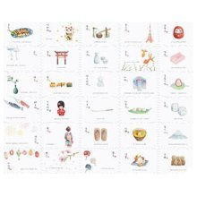 30PCS 1 Set Creative Postcards Artistic Beautiful Postcards, Breeze Story