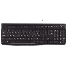 Logitech K120 USB QWERTY Spanish Black